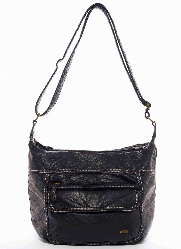 The Angelina Crossbody - Black - Ampere Creations