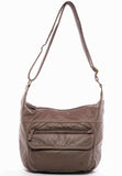 The Angelina Crossbody - Dark Grey - Ampere Creations