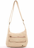 The Angelina Crossbody - Taupe - Ampere Creations