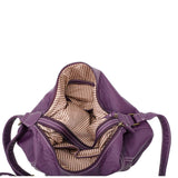 The Angelina Crossbody - Purple