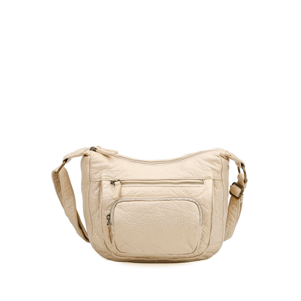 The Alison Crossbody - Champagne