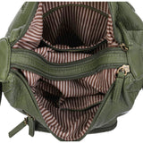 The Alison Crossbody - Army Green - Ampere Creations