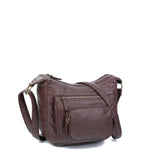 The Alison Crossbody - Chocolate Brown - Ampere Creations