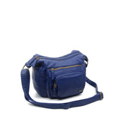 The Alison Crossbody - Dark Blue - Ampere Creations