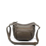 The Alison Crossbody - Dark Grey - Ampere Creations
