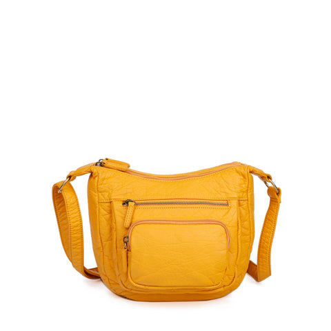 The Alison Crossbody - Honey Mustard - Ampere Creations