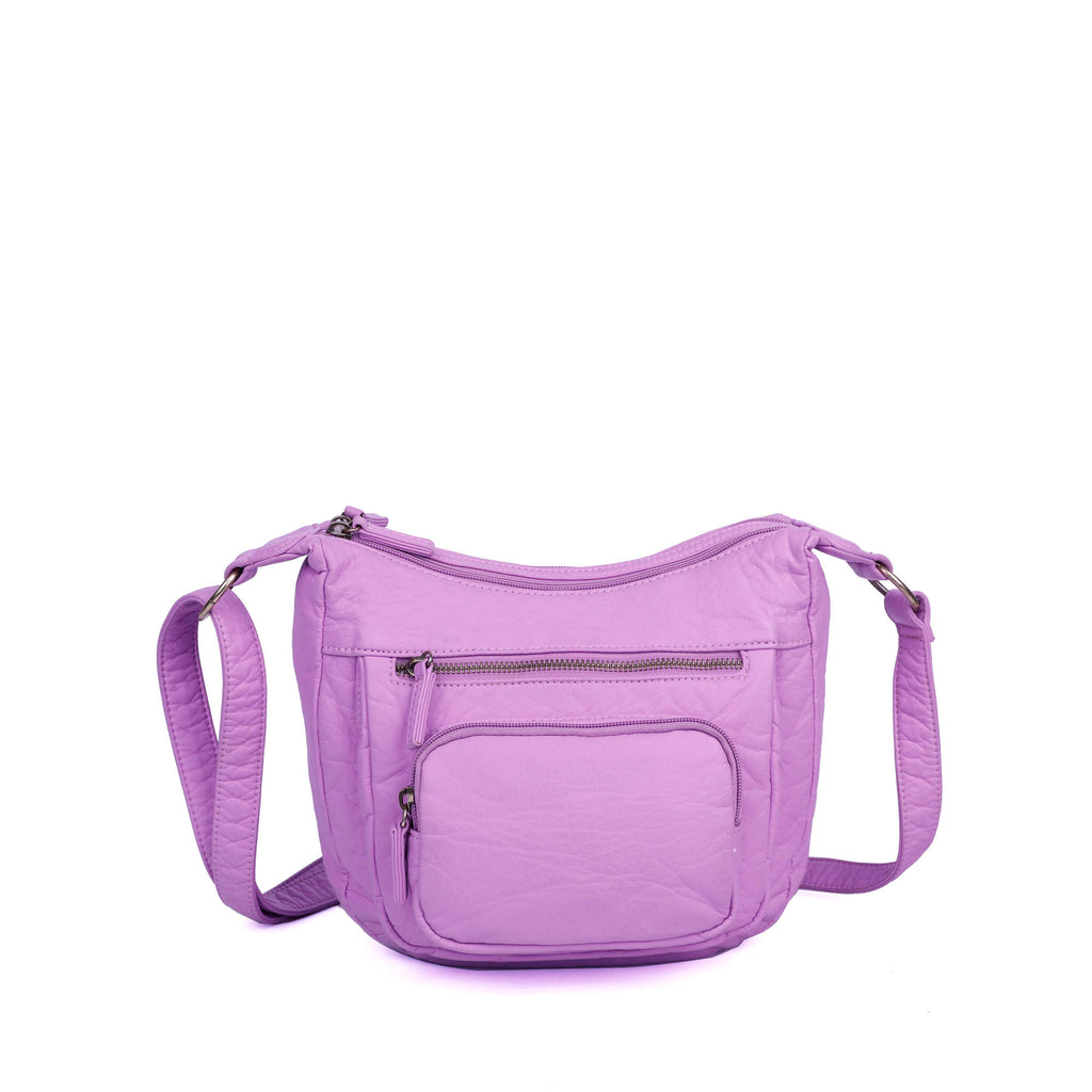 The Alison Crossbody - Light Purple - Ampere Creations