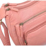 The Alison Crossbody - Peach - Ampere Creations