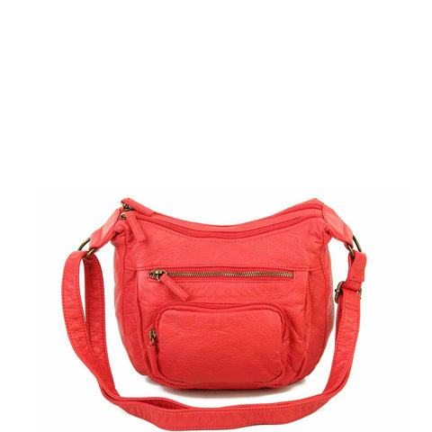 The Alison Crossbody - Poppy Red - Ampere Creations