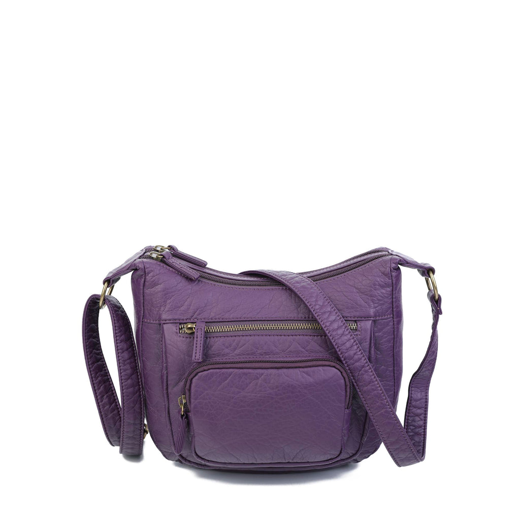 The Alison Crossbody - Purple - Ampere Creations