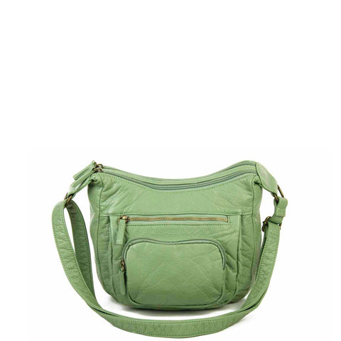 The Alison Crossbody - Seafoam Green - Ampere Creations