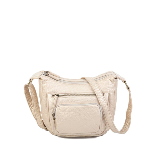 The Alison Crossbody - Taupe - Ampere Creations