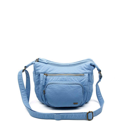 The Alison Crossbody - Baby Blue - Ampere Creations
