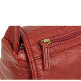 The Willma Crossbody - Burgundy - Ampere Creations