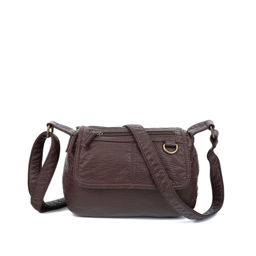 The Willma Crossbody - Chocolate Brown - Ampere Creations