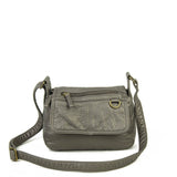 The Willma Crossbody - Dark Silver - Ampere Creations