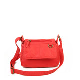 The Willma Crossbody - Poppy Red - Ampere Creations