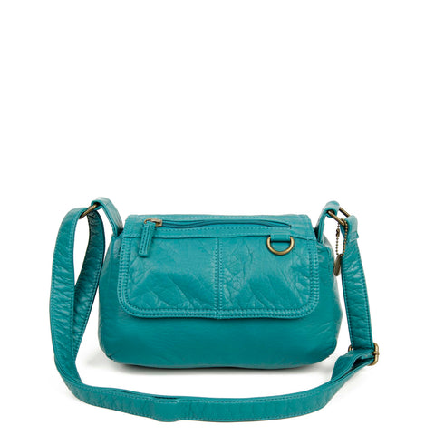 The Willma Crossbody - Teal - Ampere Creations