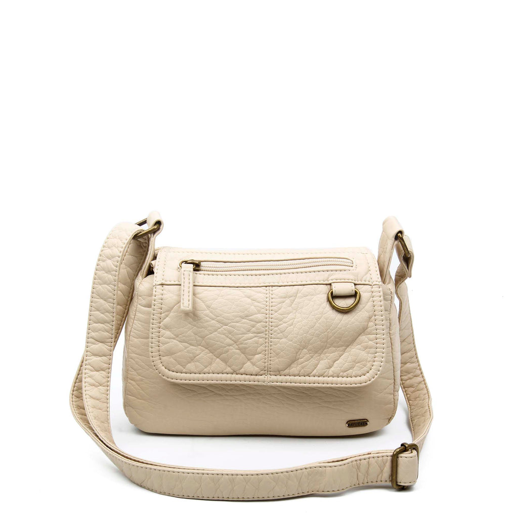 The Willma Crossbody - Taupe - Ampere Creations