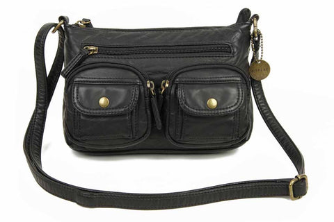 The Bethany Crossbody - Black