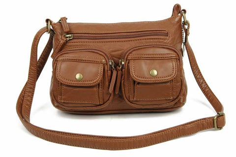 The Bethany Crossbody - Brown - Ampere Creations