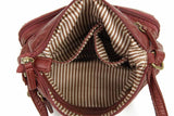 The Bethany Crossbody - Burgundy