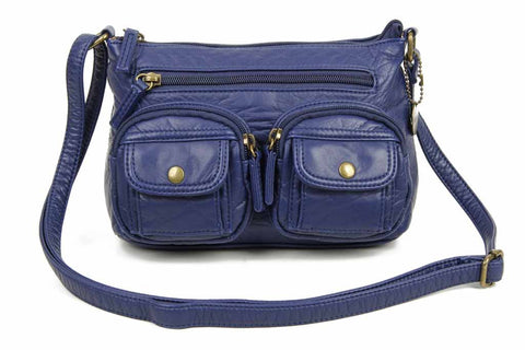 The Bethany Crossbody - Navy Blue