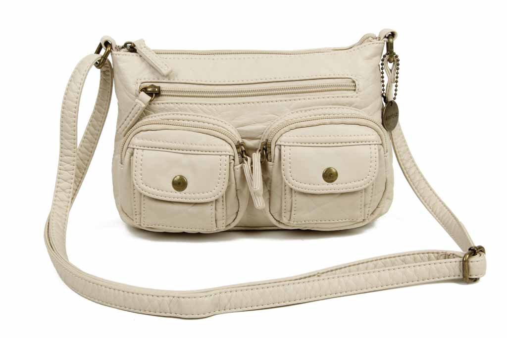 The Bethany Crossbody - Taupe - Ampere Creations