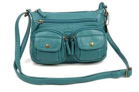 The Bethany Crossbody - Teal