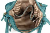 The Bethany Crossbody - Teal - Ampere Creations