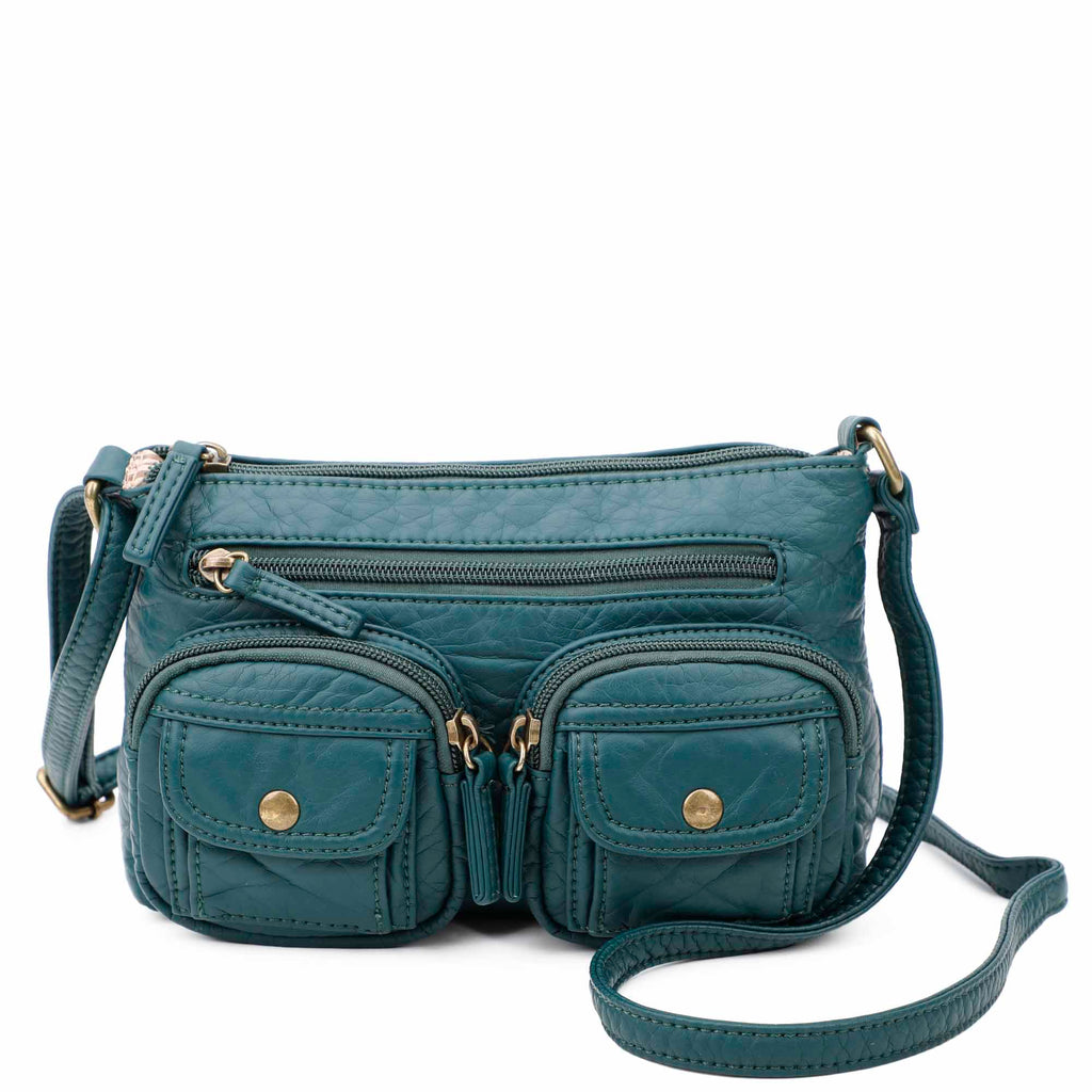 The Bethany Crossbody - Forest Green