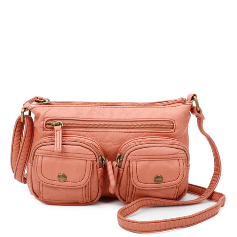 The Bethany Crossbody - Peach