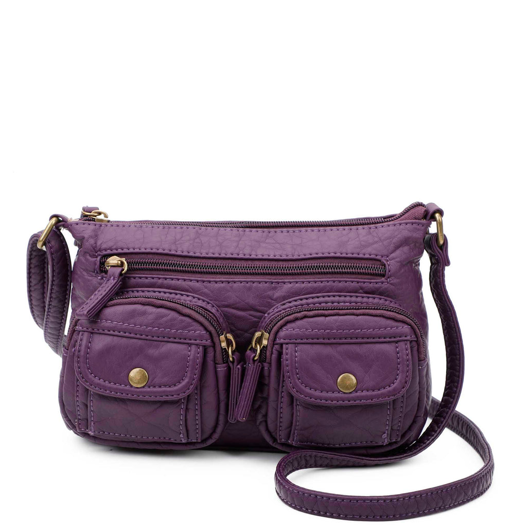 The Bethany Crossbody - Purple