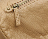 The Large Bonnie Saddle Crossbody - Sand - Ampere Creations