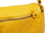 The Small Bonnie Saddle Crossbody - Honey Mustard