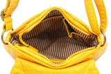 The Small Bonnie Saddle Crossbody - Honey Mustard - Ampere Creations
