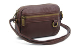 The Caroline Mini Crossbody - Chocolate Brown - Ampere Creations