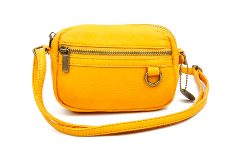 The Caroline Mini Crossbody - Honey Mustard