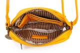 The Caroline Mini Crossbody - Honey Mustard - Ampere Creations