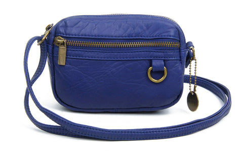 The Caroline Mini Crossbody - Navy Blue