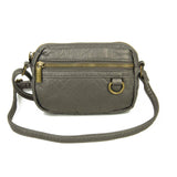 The Caroline Mini Crossbody - Dark Silver - Ampere Creations