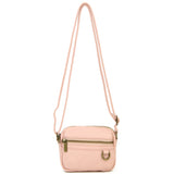 The Caroline Mini Crossbody - Petal Pink - Ampere Creations
