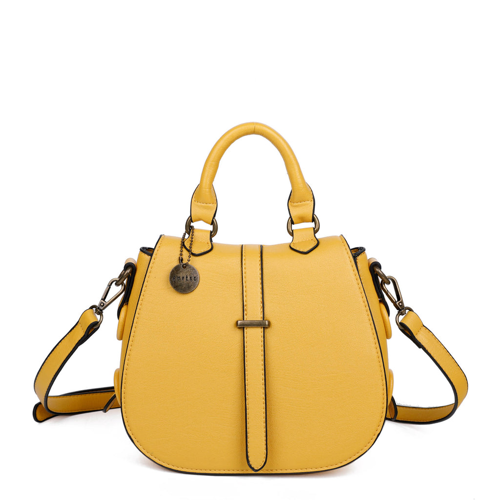The Carli Crossbody - Nutty Mustard - Ampere Creations