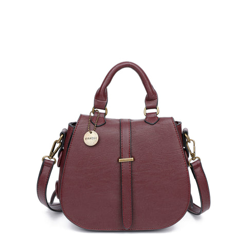 The Carli Crossbody - Wine - Ampere Creations