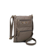 Jassy Crossbody - Dark Grey - Ampere Creations