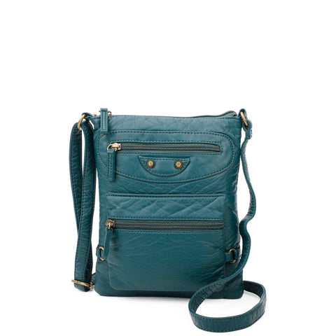Jassy Crossbody - Forest Green - Ampere Creations