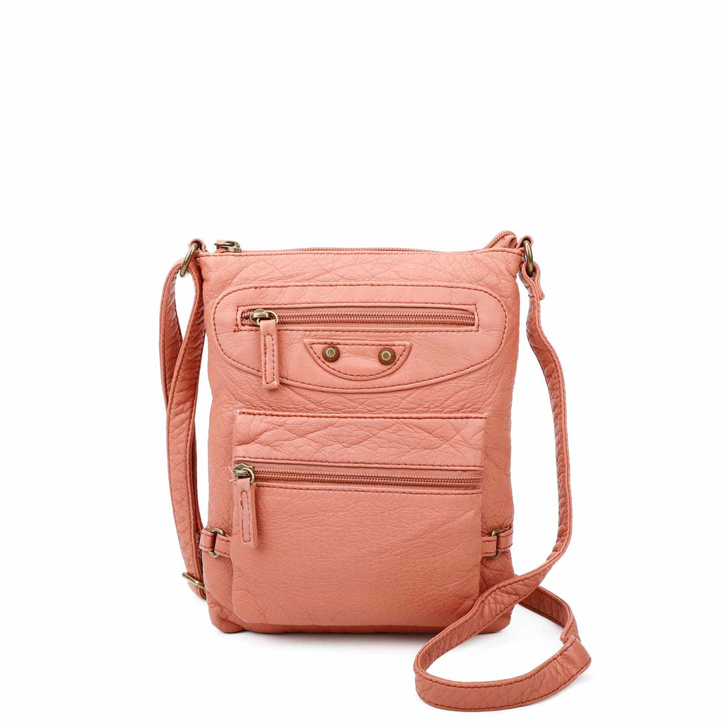 Jassy Crossbody - Peach - Ampere Creations