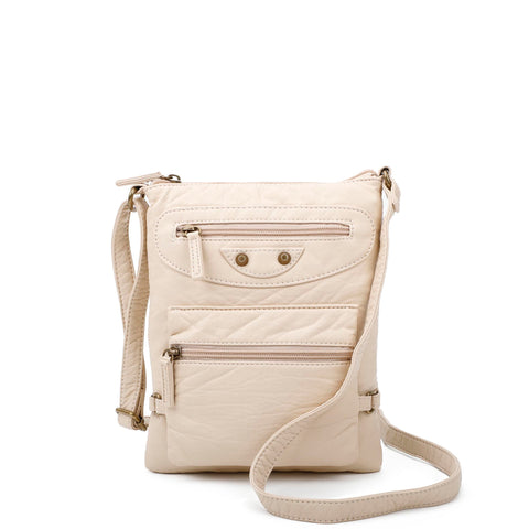 Jassy Crossbody - Taupe - Ampere Creations