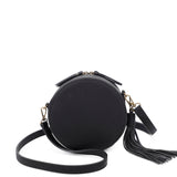 Suzie Round Crossbody - Black - Ampere Creations