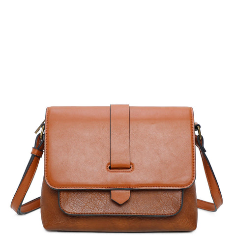 Lilly Crossbody - Brown